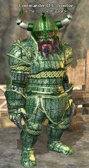 Commander O.C. Irontoe