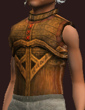 Empyrean Breastplate of the Myrmidon (Equipped)