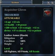 Acquisitor Gloves