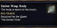 Ember Wasp Body