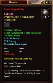 Iron Hoop of War