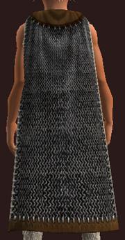Nektropos Warrior's Mantle (Equipped)