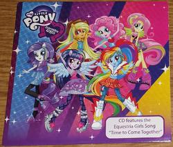 MLP Equestria Girls Walmart single packet cover