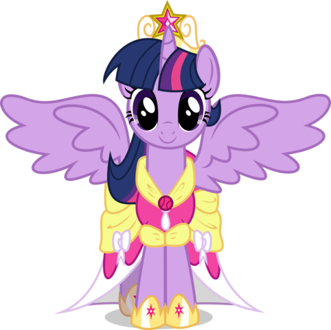 File:FANMADE Princess Twilight Sparkle.png