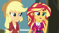 """Sunset Shimmer """"leave this to me"""" EG3"""