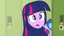 Twilight shocked to see Fluttershy EG