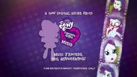 Pinkie Pie's Slumber Party - Rarity intro EGM3
