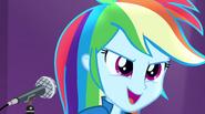 Rainbow Dash singing Shake Your Tail EG2