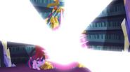 Crystal Mirror emits a blinding light EG2