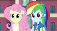 Rainbow and Fluttershy listening to Twilight EG2