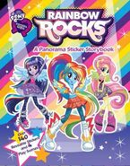 Rainbow Rocks Panorma Sticker Storybook