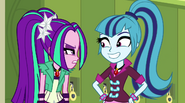 Sonata giddy and Aria annoyed EG2
