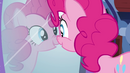 Pinkie presses her nose against the mirror EG2
