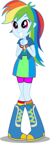 File:FANMADE Human rainbow dash .png
