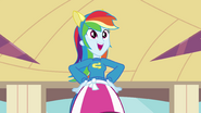 "Rainbow Dash singing ""all that we can be"" EG"