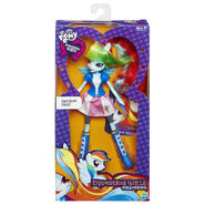 Equestria Girls Collection Rainbow Dash packaging