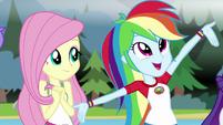 "Rainbow ""lanterns so you can see at night!"" EG4"