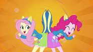 Fluttershy and Pinkie Pie splash screen 2 EG