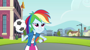 """Rainbow Dash """"totally whooped its sorry butt"""" EG2"""