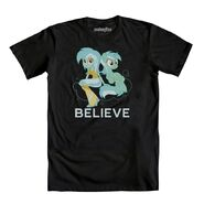 EQ Lyra Believe T-shirt WeLoveFine