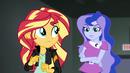 Vice Principal Luna appears behind Sunset EG3