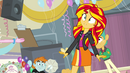 Sunset Shimmer shocked EG