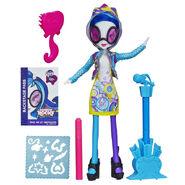 Rainbow Rocks DJ Pon-3 Design and Decorate doll
