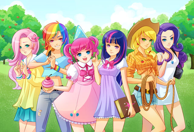 File:FANMADE Equestria Girls by X-Chan-.jpg
