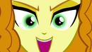 Adagio Dazzle's eyes glow green EG2