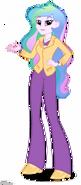 Equestria Girls Principal Celestia artwork