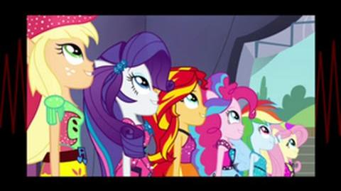 Czech Equestria Girls Rainbow Rocks Shine Like Rainbows HD