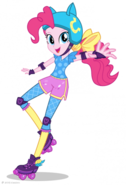 Friendship Games Pinkie Pie Sporty Style artwork