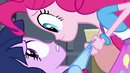 Pinkie Pie making Twilight uncomfortable EG