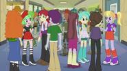 Crowd of students EG2