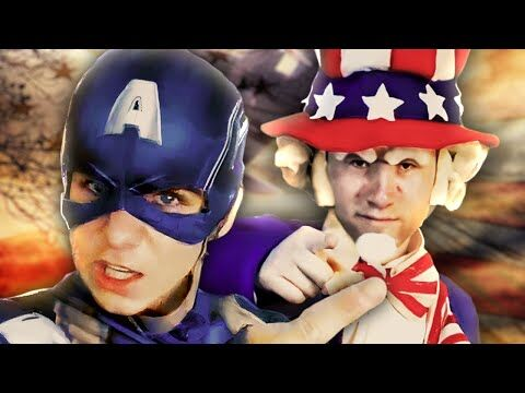 Captain America vs Uncle Sam - Epic Rap Battle Parodies Season 3