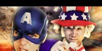 Captain America vs Uncle Sam