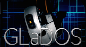 GLaDOS Title Card