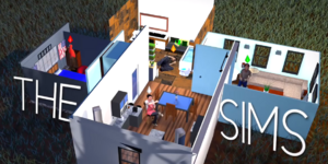 The Sims Title Card