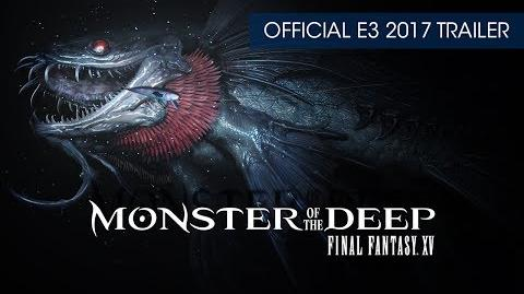 Monster of the Deep Final Fantasy XV (PSVR) Official Teaser Trailer (with subtitles)-0
