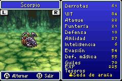 Estadisticas Scorpio