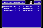Pantalla de Seleccion de Trabajo FFIII NES.png