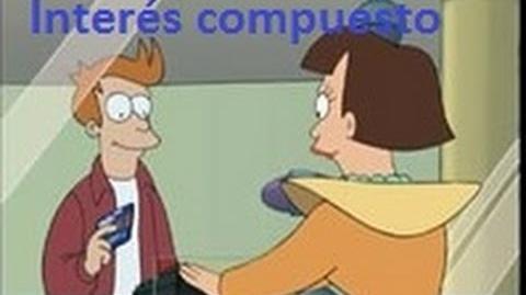Interés compuesto. Futurama- cómo Fry se hace rico.