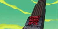 Departamentos para robots