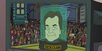 Cabeza de Dick Clark