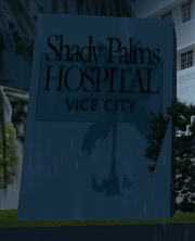 Placa Shady Palms