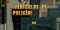 ¡Vehículos de policía!
