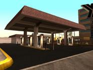 Playa de combustible