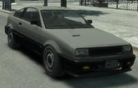 Blista Compact GTA IV