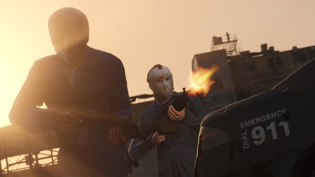 Archivo:Masks and Guns.jpg
