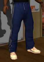 Pantalon gimnasia azul